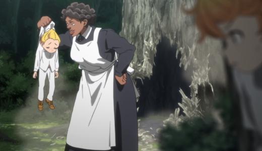 約束のネバーランド アニメ3話「181045」感想・ネタバレ
